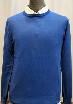 Girocollo RM M/L T.U. azzurro