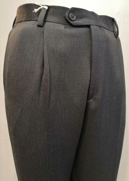Pantalone cover coat 1P grigio scuro