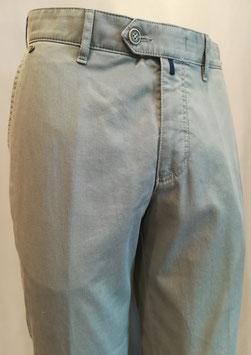 Pantaloni Brühl righe grigio chiaro