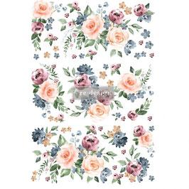 Transfer - Watercolor Bloom