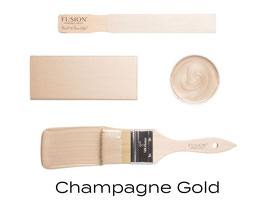 Metallic Finish -  Champagne Gold