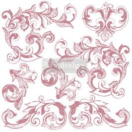 Stamps - Elegant Scrolls