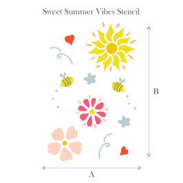 Stencil - Sweet summer vibes