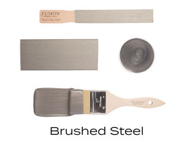 Metallic Finish - Brushed Steel
