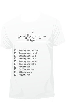 Stuttgart Shirt weiß