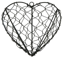 Ib Laursen Herz aus Draht zum hängen