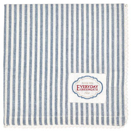 GreenGate, Stoffserviette, Alice Stripe blue