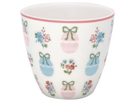 GreenGate, Latte Cup, Elsie white