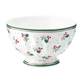 GreenGate, French Bowl, Joselyn white, medium
