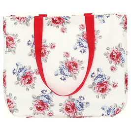 GreenGate Shopper Hailey white round