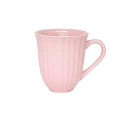 Ib Laursen, Tasse mit Rillen, Mynte, English Rose