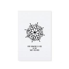 "Tafelgut, Karte ""Every Snowflake"""