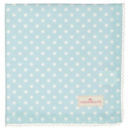 GreenGate, Stoffserviette, Spot pale blue