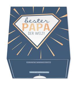 Grafikwerkstatt Bester Papa der Welt! - Message in a Box