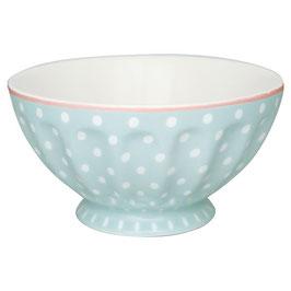 GreenGate, French Bowl, Spot pale blue, xlarge
