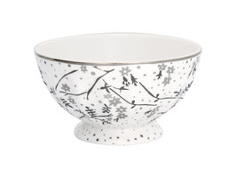 GreenGate, French Bowl, Amira white, xlarge