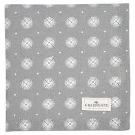 GreenGate Stoffserviette Saga warm grey