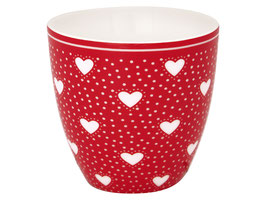 GreenGate, Mini Latte Cup, Penny red