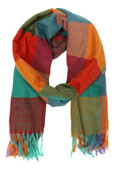 Schal Block Colors