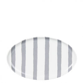 Bastion Collections, Teller Watercolor Stripes, grey