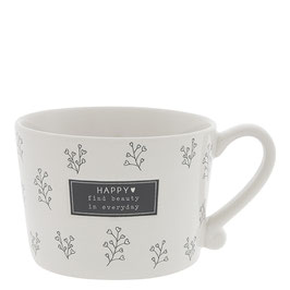 Bastion Collections Tasse Mug Find beauty in everyday black