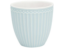 GreenGate, Mini Latte Cup, Alice pale blue