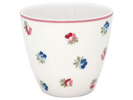 GreenGate, Latte Cup, Viola white