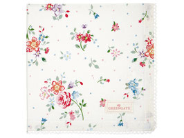 GreenGate Stoffserviette Belle white