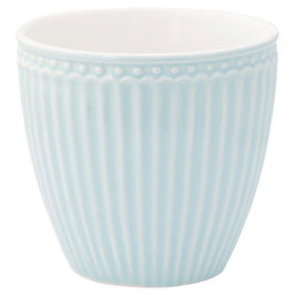 GreenGate, Latte Cup, Alice, pale blue