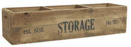 Ib Laursen Holzkiste Storage mit 3 Fächern