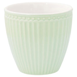 GreenGate, Latte Cup, Alice, pale green
