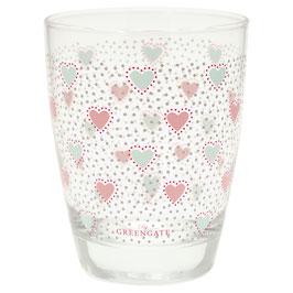 GreenGate Wasserglas Penny white