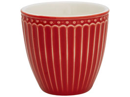 GreenGate, Mini Latte Cup, Alice red