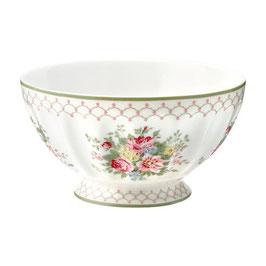 GreenGate, French Bowl, Aurelia white, xlarge