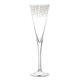 Bloomingville Sektglas mit Goldakzenten