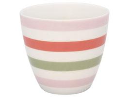 GreenGate, Latte Cup, Valentina white