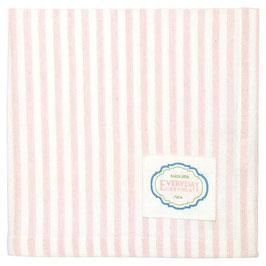 GreenGate, Stoffserviette, Alice Stripe pale pink