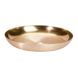 Deko Teller Shiny gold S