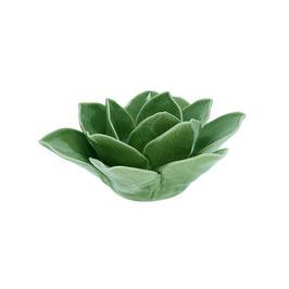 GreenGate, Kerzenhalter, Flower Lotus green medium