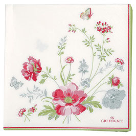 GreenGate, Papierservietten, Meadow white