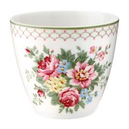 GreenGate, Latte Cup, Aurelia white