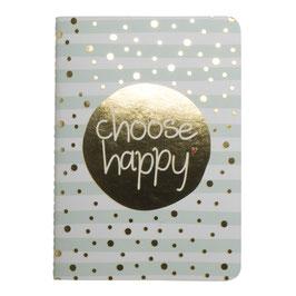 Mea Living Notizbuch Choose happy