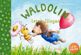 Waldolin lernt fliegen
