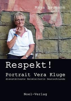 Baumann, M.: Respekt! Portrait Vera Kluge - ISBN: 978-3-95493-361-7 - Taschenbuch