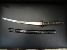 日本刀 脇差 無銘 古刀 拵え 鍔付き