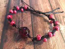 Bilur-Armband rot 1