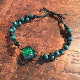Bilur-Armband grün 1