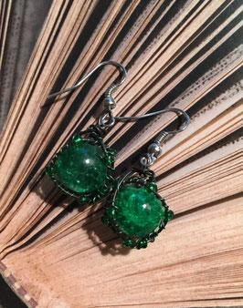 Ohrringe grün extra