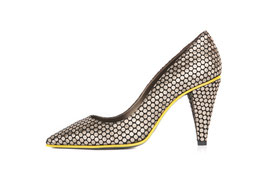 Escarpin Jun Gold Pois