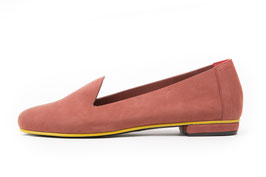 Slipper Kimia rouge ocre